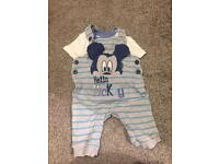 Baby Boys Mickey Mouse Outfit