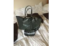 Black new Goyard bag