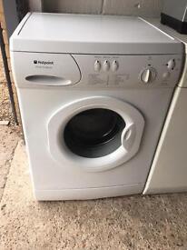 White Hotpoint Washing Machine Machine Fully Working Order Just £50 Sittingbourne