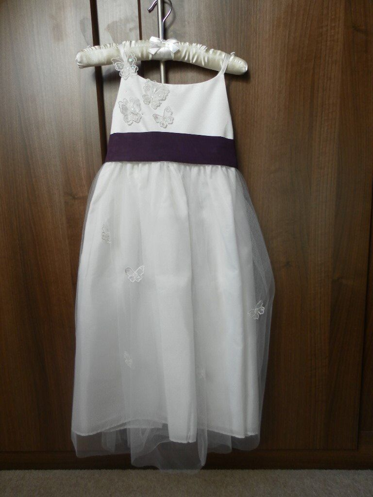 2ae69ac140f Tigerlilly by Debenhams Bridesmaid Dress age 7   Monsoon Shoes Childs size  11.