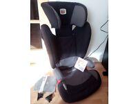 Britax Romer Child's Car Seat model Kidfix Group 2-3 (9-18kg) Isofix. Top condition