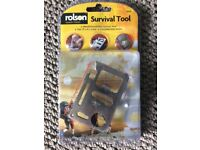 'survival tool' with wallet, great stocking-filler