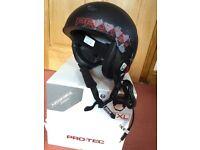Men's Pro-Tec Snowboard Helmet 59-60cm with Plantronics Audio Force sound system, never used