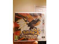 Pokemon ultra sun new/sealed