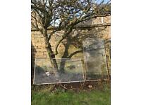 *FREE* 2x 6 foot by 3 foot glass panels