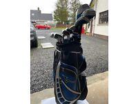 Full set of golf clubs +bag