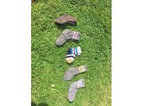 Woollen socks handmade.