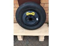 Volvo emergency spare wheel and tyre
