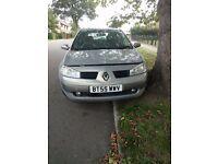 Renault Megane 1.9 dci , 2005, Spares or Repair
