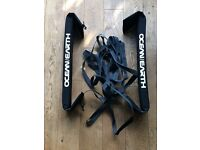 Surfboard & Longboard Car Roof Straps