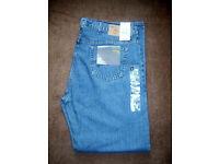 Unused Marks & Spencers Blue Jeans