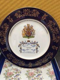 Prince Andrew/ Sarah Ferguson Commemorative Aynsley China Plate