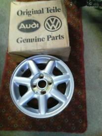 Volkswagen Golf mk2 passat,Jetta, 4stud alloy wheel in original box
