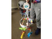 Wind up cot mobile