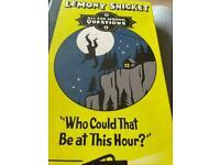 Lemony snicket hardback book