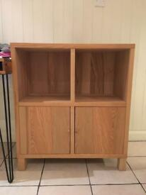 IKEA Square Wooden Shelving Unit