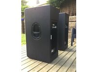 Mackie HD 1531 Active PA speakers