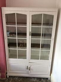Beautiful Antique Solid Oak Bookcase
