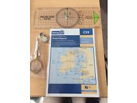 IMRAY Map, Course Plotter, Stainless Steel Points and Magnifying Glass