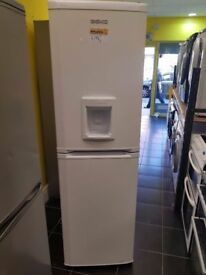 White Beko Fridge Freezer (6 Month Warranty)