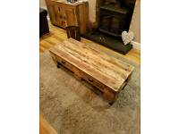 Coffee table, rustic, shabby chic