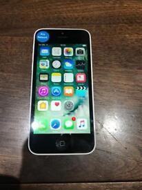 iPhone 5c White Unlocked 16gb