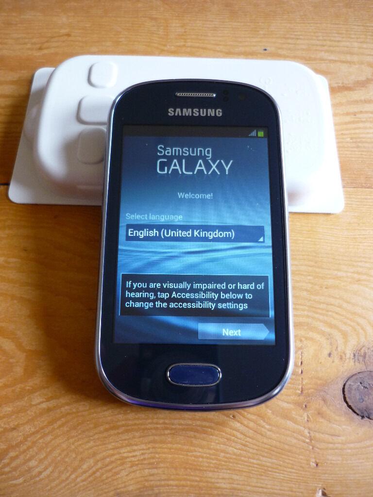 Samsung Galaxy Fame GTS6810P - 4GB - Metallic Blue (Tesco Mobile)