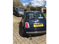 FIAT 500 (Start/Stop) - 45K Mileage - Navy - 875cc - FREE Road Tax - Cheap Insurance