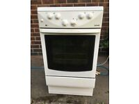 Gorenje 50 cm wide gas cooker with electric oven