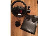 Logitech Driving Force GT (DFGT) steering wheel