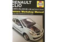 Haynes Renault Clio manuel