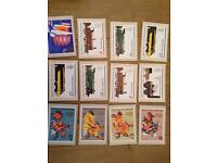 Royal Mail Stamp Postcards PHQ 7, 11 and 12