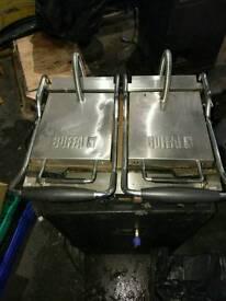 Buffalo panini sandwich press machine