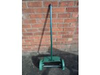 Manual Hand Push Lawn Scarifier