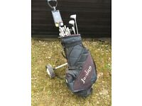 Golf Bag Clubs and Trolley ideal for starter.