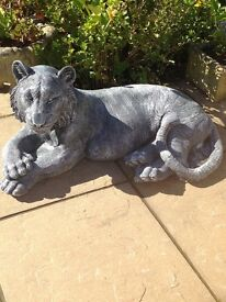 Dropped price large solid tiger statue 1 left 40 pounds