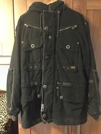 G Star Mens Jacket - Extremely Warm - Was £500 New From G Star In Edinburgh - Only Worn Few Times