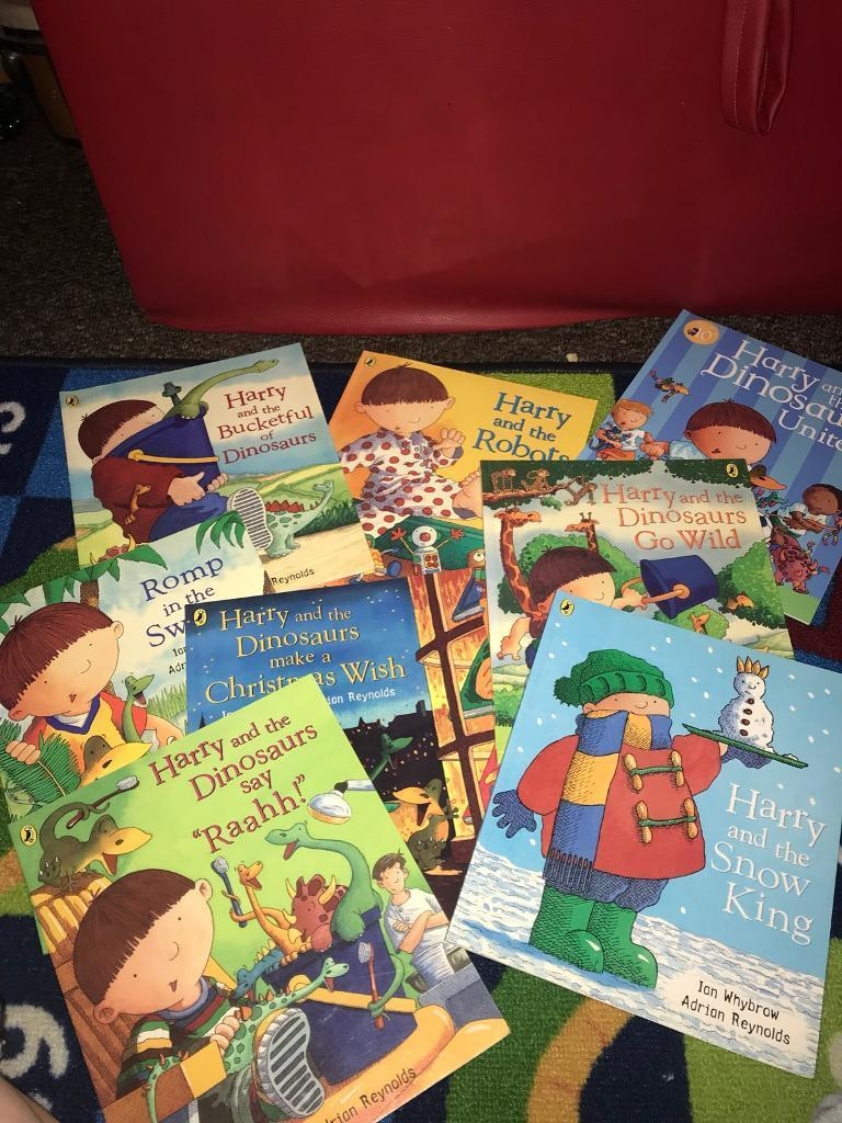 Selection of Harry & The Bucket Full of Dinosaurs books