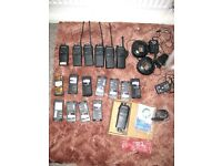 Walkie Talkies Motorola GP340's ( Professional Job Lot )