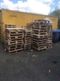Wooden pallets FREE TO COLLECT