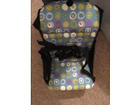Munchkin travel high chair and booster seat