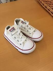 Converse trainers infant size 9