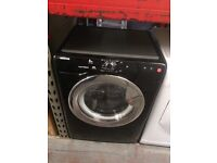 HOOVER 8KG WASHING MACHINE BLACK RECONDITIONED