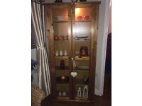 PINE WALL CABINET FOR SALE**
