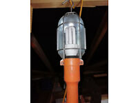 Mechanics handheld inspection light complete with energy saving bulb DIY