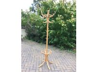 Pine hat stand