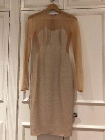 Elisabetta Franchi - Dress (size IT 40), beige colour, see through. Brand new
