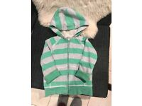 2 Mini Boden Shaggy-Lined Hoody - Aged 7 to 8 years + 5 to 6 years