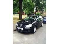 Vw polo automatic 2005 black new shape 1 owner from.new