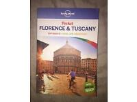Florence & Tuscany Lonely Planet book